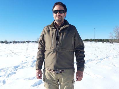 Cayetano Torres, delegado de la Aemet en Madrid, tras la nevada histórica en la ciudad.