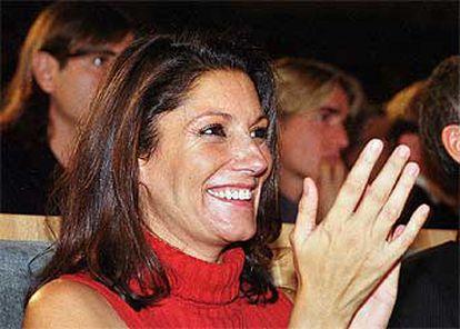 Carmen Ordóñez, en una fotografía tomada en octubre de 2000.