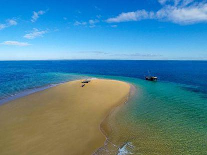 Una playa de Mozambique, país en el que se centra el estudio.