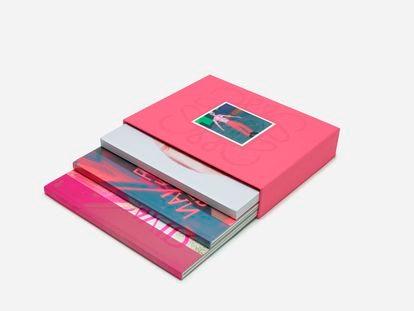 Presentación del formato físico de la colección de Loewe para la primavera/verano 2022