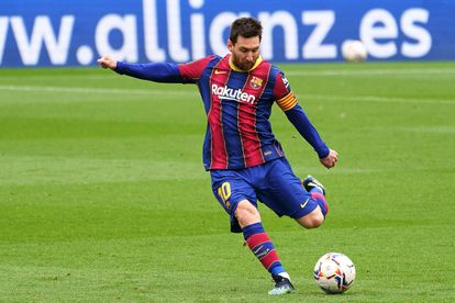 Messi, during a game this season.