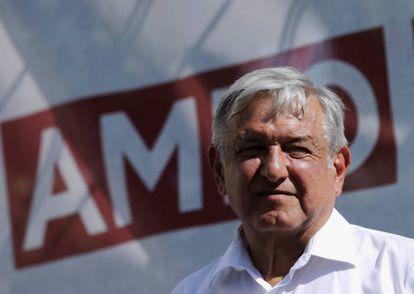 López Obrador, al sur de la Ciudad de México.