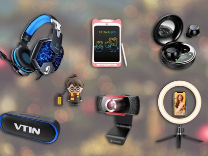 Auriculares inalámbricos y para 'gaming', altavoces portátiles o cámaras web son algunos de los artículos que hemos seleccionado para ahorrar en las compras navideñas.
