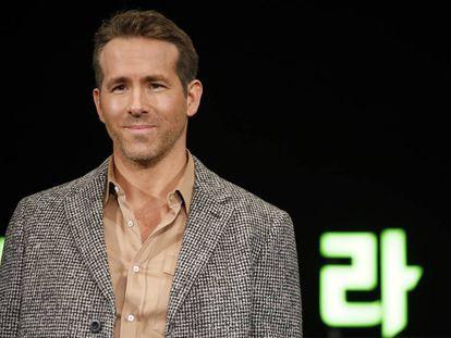 Ryan Reynolds, el pasado diciembre, en la presentación de la película 'Escuadrón 6 ' en Seúl.