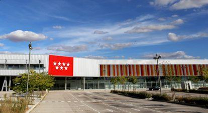 La abandonada Ciudad Deportiva de Espartales, en Alcalá de Henares.