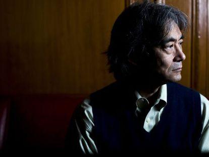 El director de orquesta Kent Nagano, en Madrid.