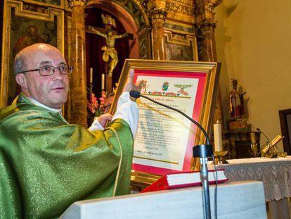 José Manuel Ramos, durante un homenaje en octubre de 2018.