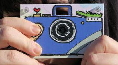 La cámara Paper Shoot.