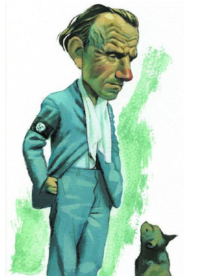 Louis-Ferdinand Céline visto por Fernando Vicente.