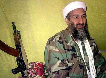 El líder de Al Qaeda, Osama Bin Laden