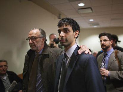 Dharun Ravi tras oir el veredicto del jurado popular.