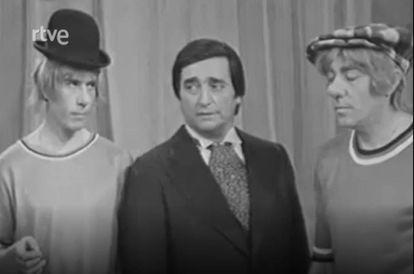 En cuanto cortaban la toma, los rostros de Fofito, Gaby y Miliki se llenaban de emoción.