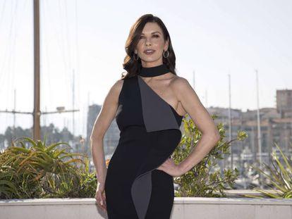 Catherine Zeta-Jones, en Cannes el pasado mes de octubre.