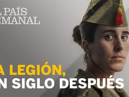 """La Legión: cien años, """"con razón o sin ella"""""""