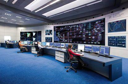 Centro de control de energías renovables creado por Red Eléctrica de España.