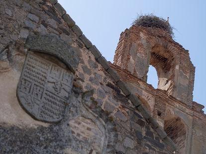 Exterior de la iglesia de los Cinco Mártires de Marruecos, en la localidad cordobesa de Belalcázar.