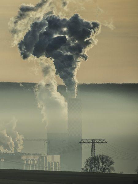 Central de generación eléctrica de carbón en la localidad polaca de Bogatynia.