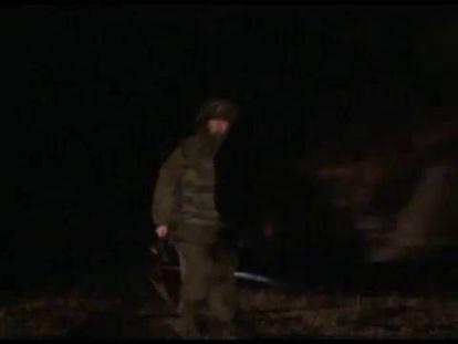 Maniobras del Ejército ruso.