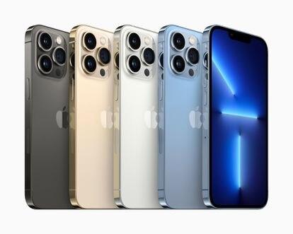 Imagen del nuevo iPhone 13.