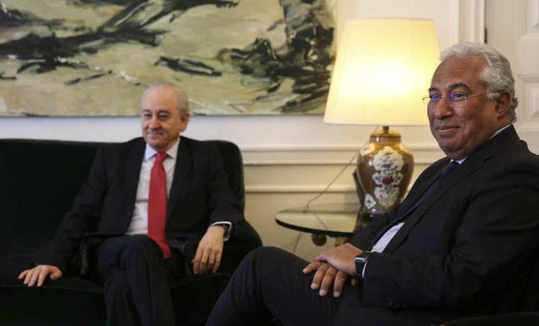 El líder de la oposición portuguesa, Rui Rio, y el primer ministro de Portugal, António Costa, el pasado septiembre.