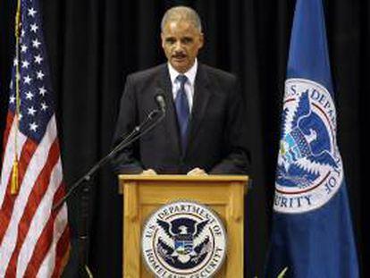El fiscal general de Estados Unidos, Eric Holder. EFE/Archivo
