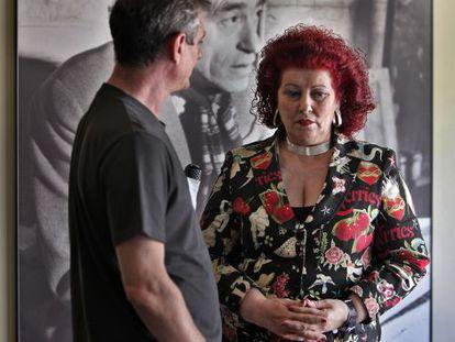 Consuelo Ciscar, en una exposición del IVAM.