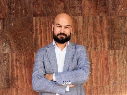 El escritor Galder Reguera, responsable de Proyectos de la Fundación del Athletic Club.