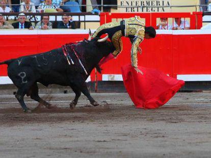 Cogida de Jiménez Fortes en Vista Alegre