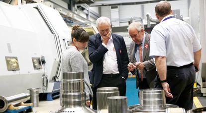 El líder laborista Jeremyn Corbyn visita este jueves un centro de investigación de la Universidad de Sheffield financiado con fondos de la UE.
