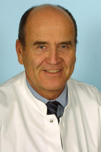 El hematólogo alemán Eckhard Thiel.