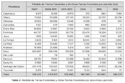Santiago del Estero encabeza el ránking de deforestación desde que se aprobó la ley de bosques.