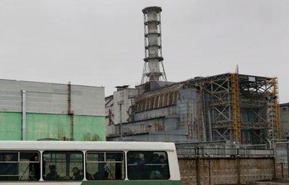 El reactor número 4 de Chernobil, hoy.