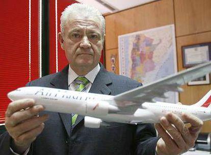José Luis Carrillo, presidente de Air Madrid.