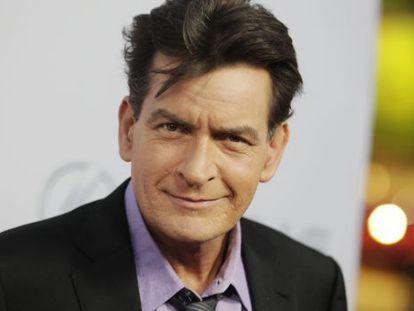 El actor Charlie Sheen.