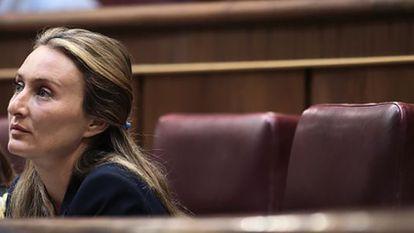 La exdiputada Andrea Fabra.