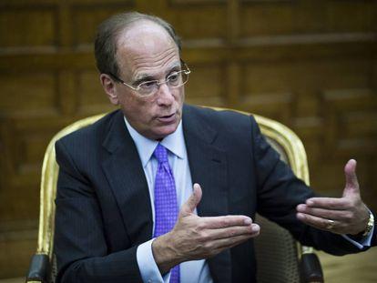 Larry Fink, presidente de BlackRock