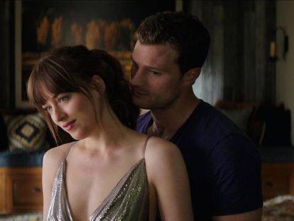 """Menos mal que se acaba la saga, porque nadie querría ver en la cuarta parte a Anastasia preguntándole a Christian: """"¿Te queda mucho? Mañana tengo que madrugar""""."""