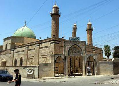 La mezquita de Al Nuri en una imagen de 2014.
