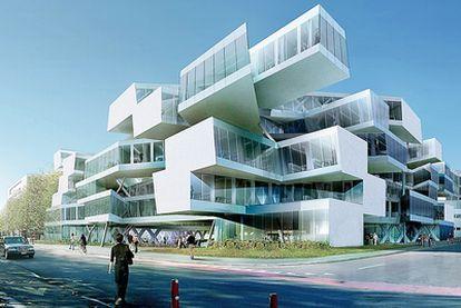 Actelion Business Center en Allschwil (Suiza), del estudio Herzog & De Meuron