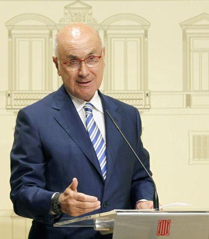 Josep Antoni Duran Lleida, líder de UDC.