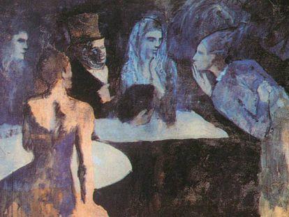 'Les noces de Pierrette', de Picasso, obra del oligarca ruso Dmitry M. Rybolovlev que estuvo en el puerto franco de Ginebra (Suiza).
