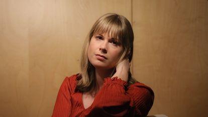 Lara Prescott, en Madrid el pasado mes de febrero.