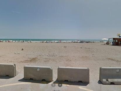 Playa de El Puig (Valencia).