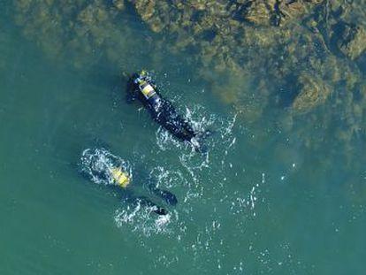 Un equipo de la Universidad de Córdoba reconstruye con imágenes subacuáticas un poblado íbero recién descubierto bajo las aguas del pantano de Sierra Boyera en Belmez