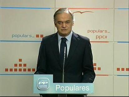 """González Pons: """"El Rey volvió a ser el Rey de los ciudadanos"""""""