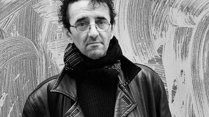 El poeta y novelista chileno Roberto Bolaño, en 2003 en París.
