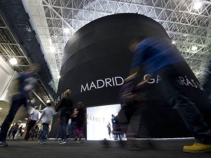 El pabellón de Madrid en la FIL de Guadalajara.