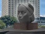 Fotograma del video compartido por el artista Pedro Reyes donde se muestra el boceto de la escultura 'Tlali'.