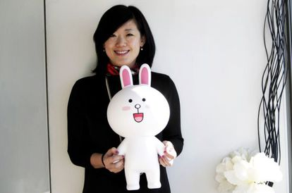 Sunny Kim, consejera delegada de Line en España.