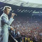 David Bowie actuó en Live Aid en el estadio de Wembley (Londres) en 1985.